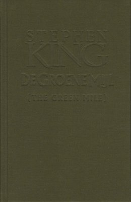 Metalen boekenlegger (met gratis speciale uitgave Groene Mijl!)